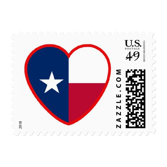 Love for Texas Postage