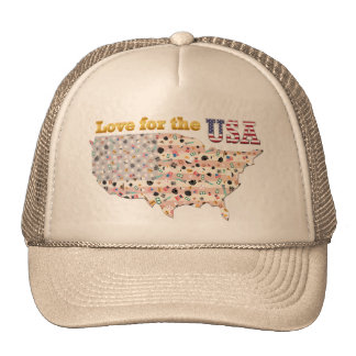 Love for the USA Trucker Hat