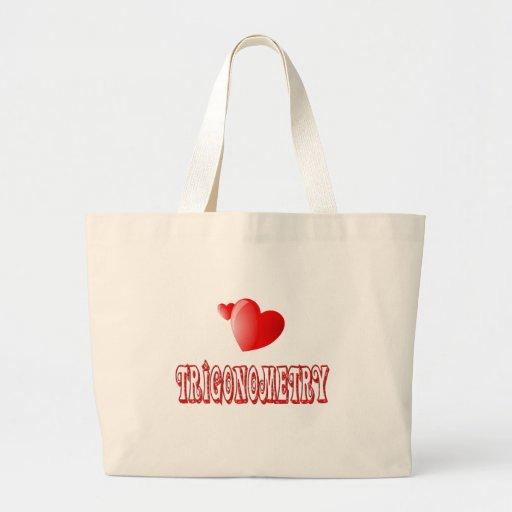 Love for Trigonometry Jumbo Tote Bag
