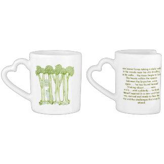 love forest couples coffee mug