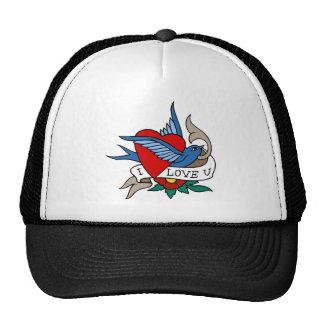 Love Forever Heart 2 Trucker Hat