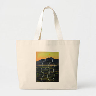 Love Forever Large Tote Bag