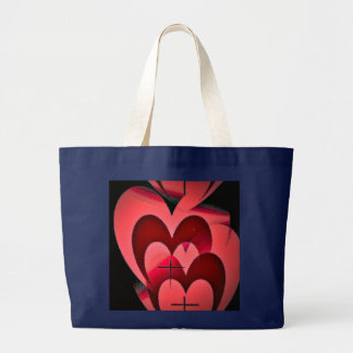 Love Forever True Large Tote Bag