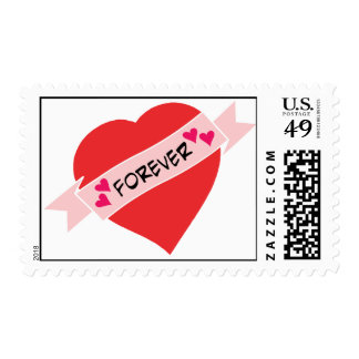Love Forever Valentines Stamps