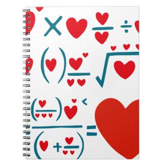 Love Formula Notebook