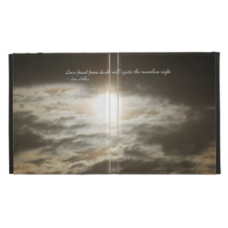 Love Freed From Doubt Will... iPad Case
