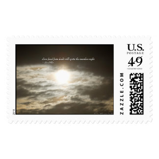 Love Freed From Doubt Will... USPS Stamps