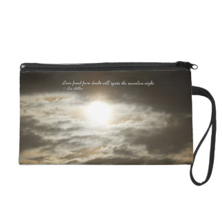 Love Freed From Doubt Will... Wristlet Purse Bag