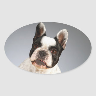 Love French Bulldog Puppy Dog Sticker / Seals