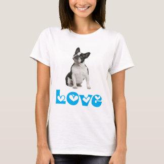 Love French Bulldog Puppy Dog T-Shirt