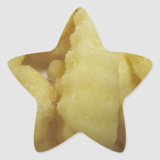 Love French Fries Star Sticker
