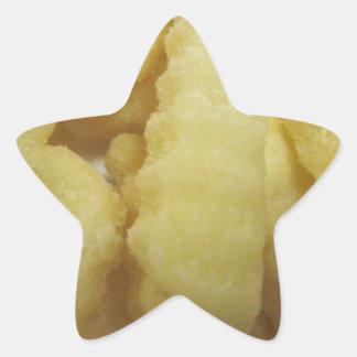 Love French Fries Star Sticker
