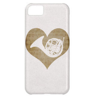 Love French Horn iPhone 5C Cases