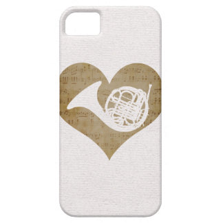 Love French Horn iPhone SE/5/5s Case
