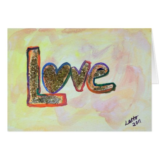 Love Fresh Spring Greeting Card or Note Cards
