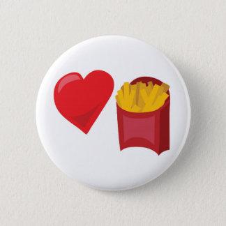 Love Fries!  Customizable: Pinback Button