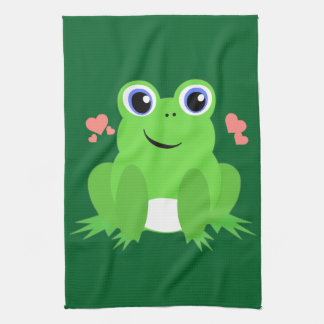 Love Frog Hand Towel