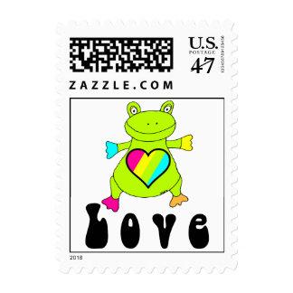 Love Frog Postage