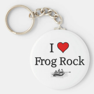 Love Frog Rock Keychain