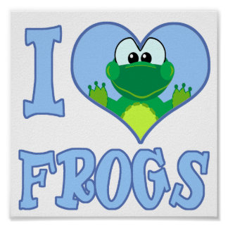love frogs poster