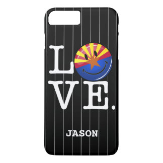 Love From Arizona Smiling Flag iPhone 8 Plus/7 Plus Case
