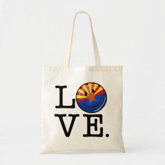 Love From Arizona Smiling Flag Tote Bag