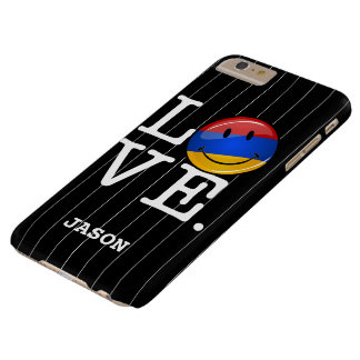 Love From Armenia Smiling Flag Barely There iPhone 6 Plus Case