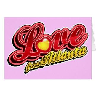 Love From Atlanta Card