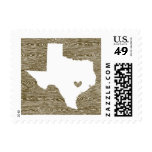 Love from Austin, TX in Faux Bois Stamps