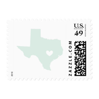 Love from Austin, Tx in Mint Postage
