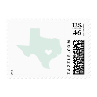 Love from Austin Tx in Mint Stamp