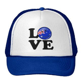 Love from Australia Smiling Flag Trucker Hat