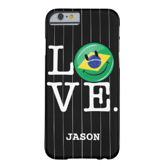 Love from Brazil Smiling Face Barely There iPhone 6 Case