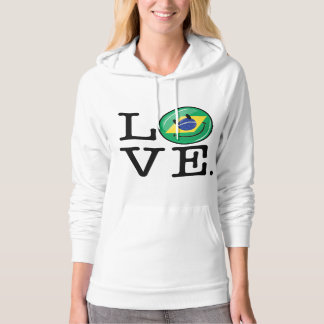 Love from Brazil Smiling Face Pullover