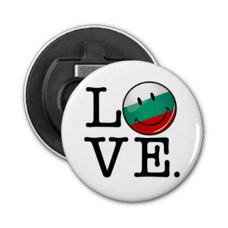 Love From Bulgaria Smiling Flag Bottle Opener