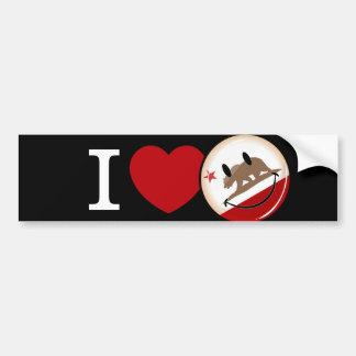 Love from California Car Bumper Sticker