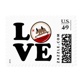 Love from California Postage