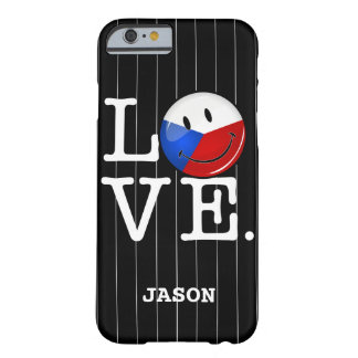Love From Czech Republic Smiling Flag Barely There iPhone 6 Case