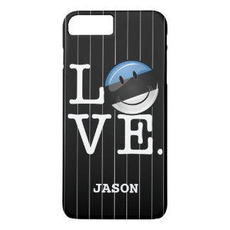 Love From Estonia Smiling Flag iPhone 8 Plus/7 Plus Case