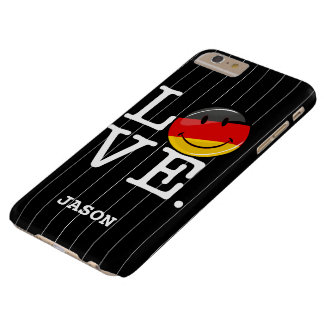 Love From Germany Smiling Flag Barely There iPhone 6 Plus Case