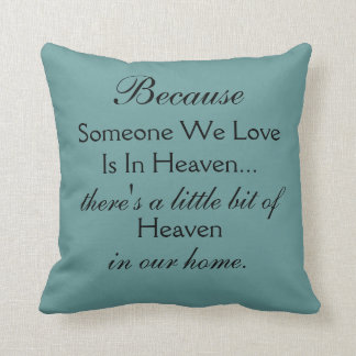 Love from Heaven Throw Pillow