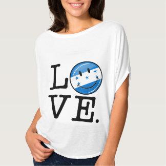 Love From Honduras Smiling flag T Shirt