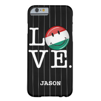 Love From Hungary Smiling Flag Barely There iPhone 6 Case