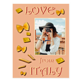 Love from Italy Postcard