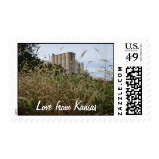Love from Kansas Stamps