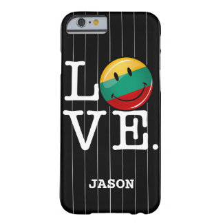 Love From Lithuania Smiling Flag Barely There iPhone 6 Case