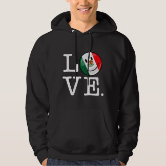 Love From Mexico Smiling Flag Hoodie