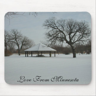 Love From Minnesota Mouse Pad