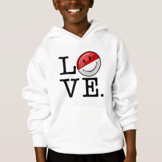 Love From Mpnaco Smiling Flag Hoodie
