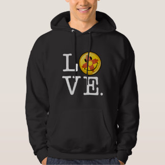Love from New Mexico Smiling Flag Hoodie